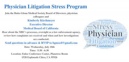 Physician Litigation Stress Program